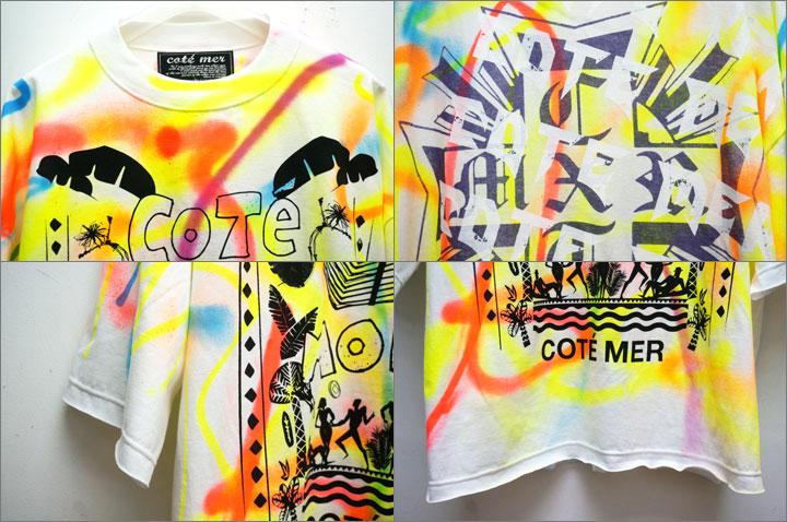 COTE MERのTシャツ