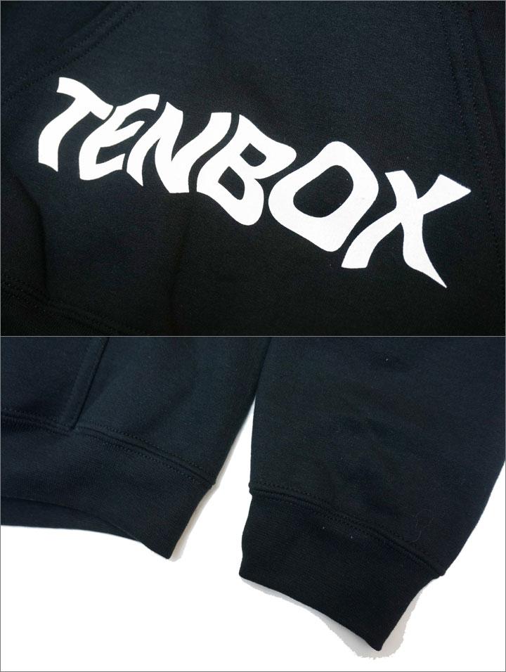 TENBOXのパーカー
